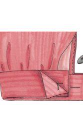 Як виконати подвійну манжету рукава під запонки