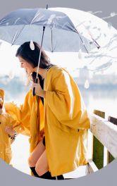 Прості викрійки плащів і анораків від дощу