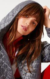 Стьобані пальта, куртки і жилети