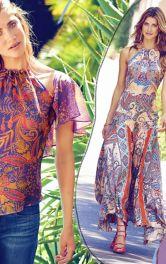 Летняя одежда в стиле бохо