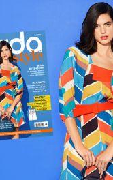 Сукня 108 з обкладинки Burda Style 8/2021