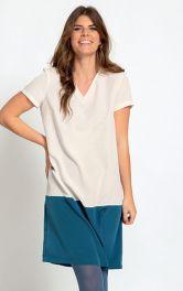Як пошити просту сукню-футболку