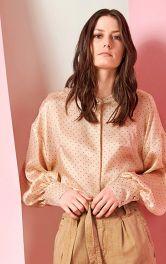 Потайна застібка на блузці
