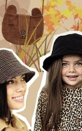 Шиємо тренд-сезону - теплу панаму для доньки і мами