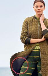 Модель «за кадром»: трикотажні брюки
