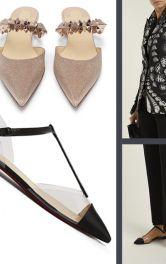 Тренд - святкове взуття на низькому ходу