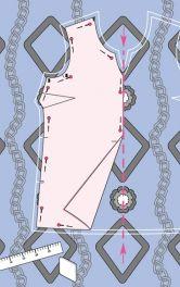 Поради щодо розкрою тканин з візерунками