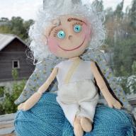 """Як пошити текстильну ляльку """"Янголятко"""" власноруч"""