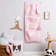 Как сделать настенный органайзер «Зайчик» для детской комнаты