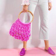 Як сплести модну сумку в стилі макраме