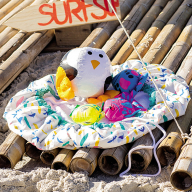 Як пошити пляжний килимок-трансформер