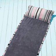 Як пошити пляжний килимок-трансформер з подушкою власноруч
