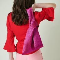 Шьем модную сумку-узелок