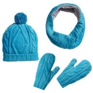 Шапка, снуд і рукавиці зі старого пуловера власноруч