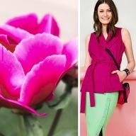 Как носить розовый цвет в межсезонье