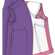 Поради по розкрою підкладки для жакета та пальта
