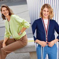 Стильные комплекты на лето с жакетом и блузоном