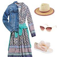 Три образи з романтичною літньою сукнею