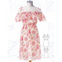Як пошити три сукні з воланами за однією викрійкою