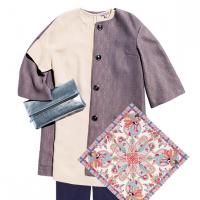 Стильні весняні образи з легким пальтом