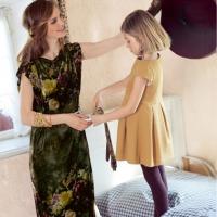 Покрокова інструкція з пошиття оксамитової сукні