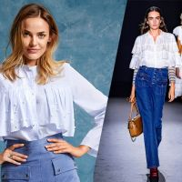 Хіт сезону: блузка з оборками