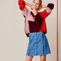 Новий погляд на джинсові спідниці