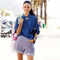 15 стильних літніх образів із шортами