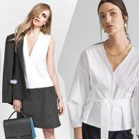 Моделі Burda Style блузок сорочкового крою