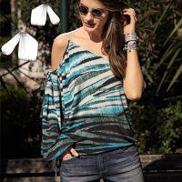 Ефектні і прості моделі літнього одягу на одне плече
