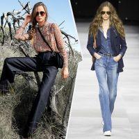 Модні фасони джинсів та іншого одягу із деніму