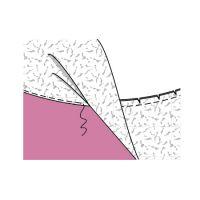 Як виконати обшивку зрізів виробу