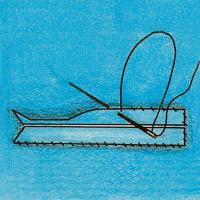 Як виконати обшивну петлю в рамку