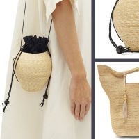 Плетені сумки на літо