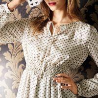 Обробка розрізу біля горловини блузи або сукні