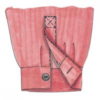 Як зробити класичну шліцу рукава чоловічої сорочки