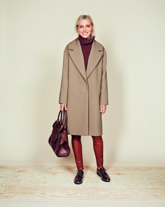 Пальто Н-силуету