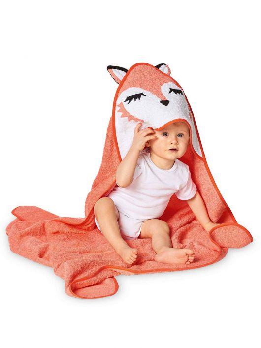 Рушник банний з капюшоном «Лисичка»