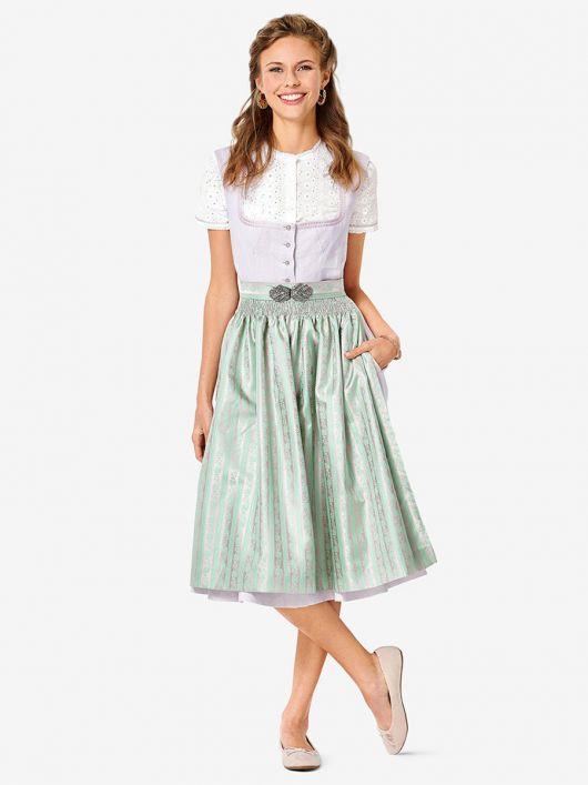 Дірндль класичний з фартухом і блузкою