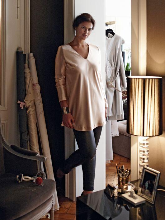 Блуза А-силуету