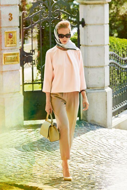 Блуза прямого крою