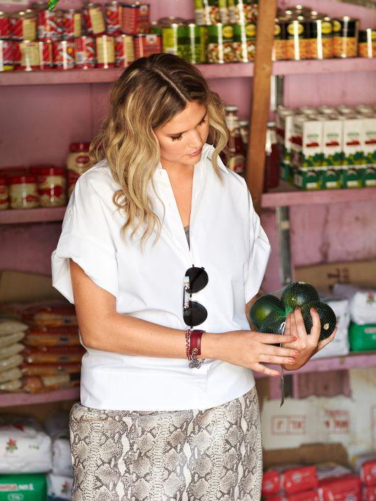 Блузка-сорочка з короткими рукавами