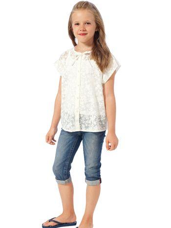 Блузка-сорочка широкого крою