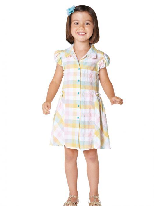Сукня-сорочка з пишною спідницею