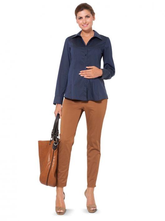 Блузка сорочкового крою для вагітних