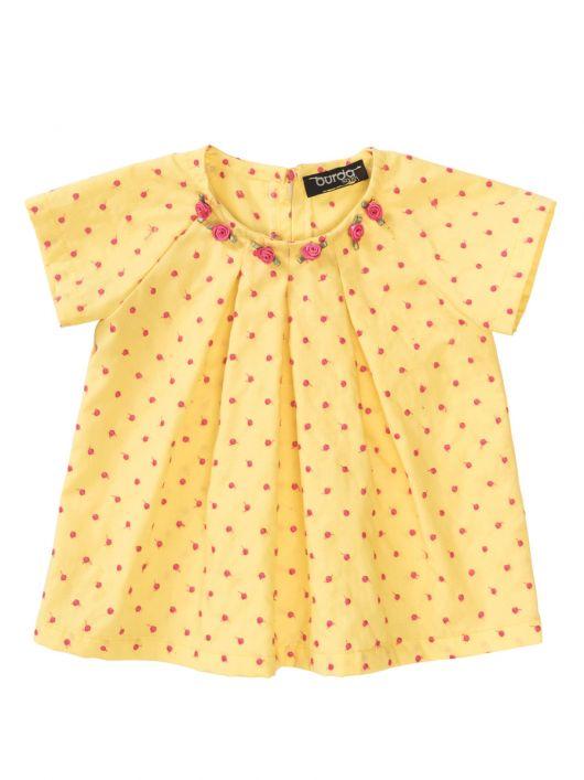 Блузка розкльошеного силуету