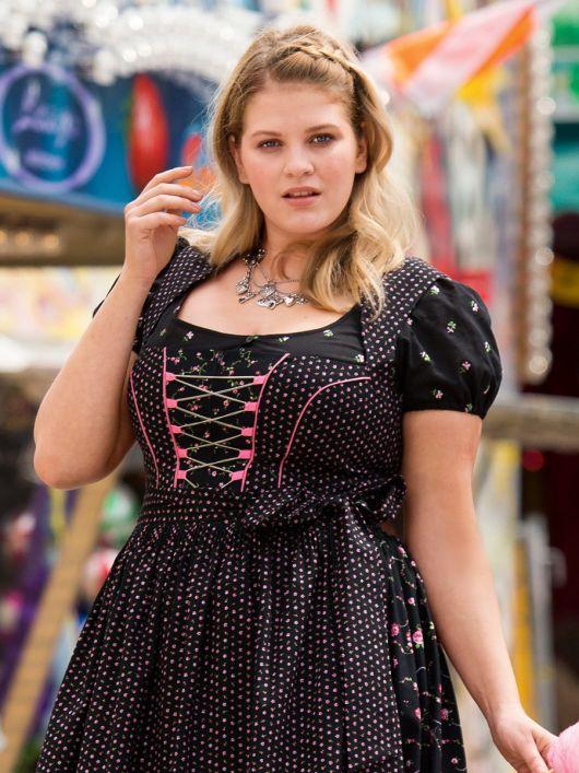 Блузка коротка в баварському стилі
