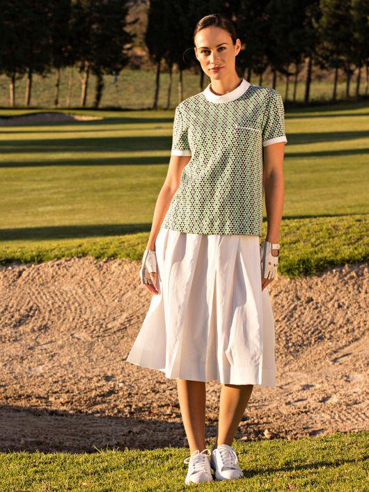 Блуза з наскрізною застібкою на спинці