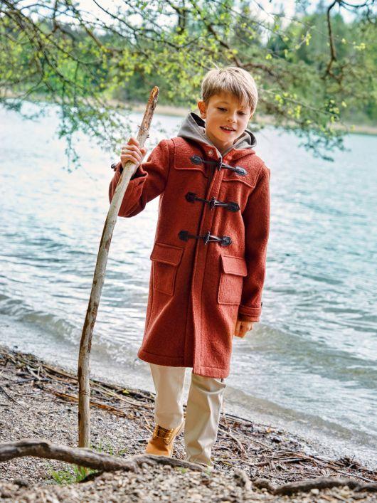 Пальто дафлкот із застібкою на блискавку