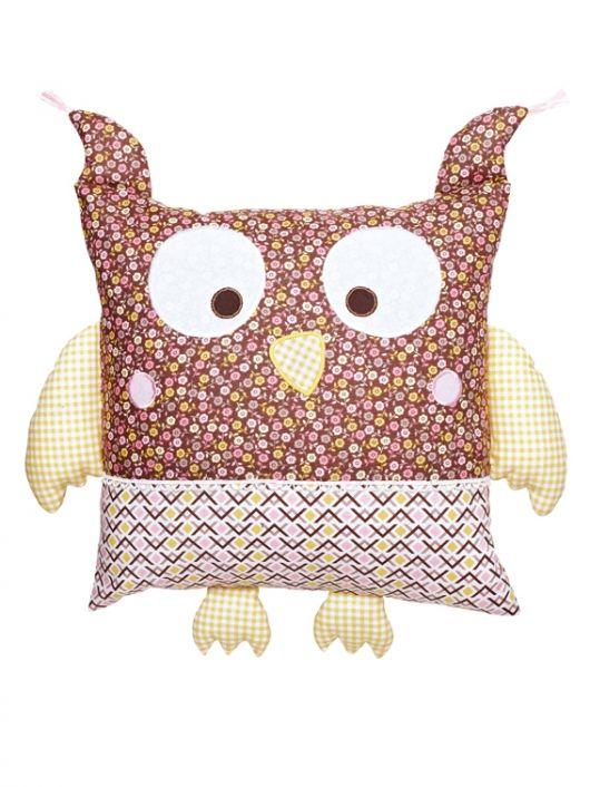 Наволочка для декоративної подушки «Сова»